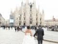 ARIANNA E STEFANO max&kitchen catering matrimonio in serra lorenzini duomo di milano