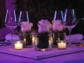 ARIANNA E STEFANO max&kitchen catering matrimonio in serra lorenzini centro tavola