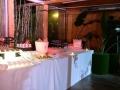 ARIANNA E STEFANO max&kitchen catering matrimonio in serra lorenzini tavolo buffet