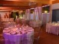 ARIANNA E STEFANO max&kitchen catering matrimonio in serra lorenzini sala cena