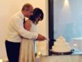 Matrimonio Fabiola Max&kitchen Catering taglio della torta