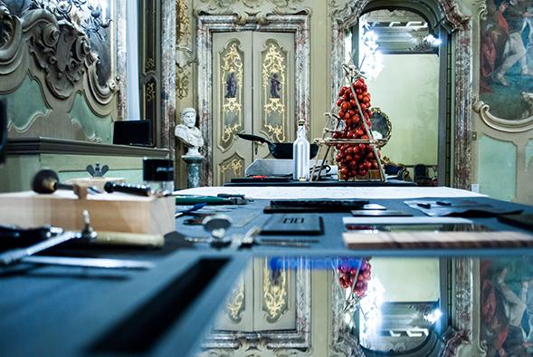 CENA E SHOW COOKING PRESSO PALAZZO VISCONTI max&kitchen catering milano