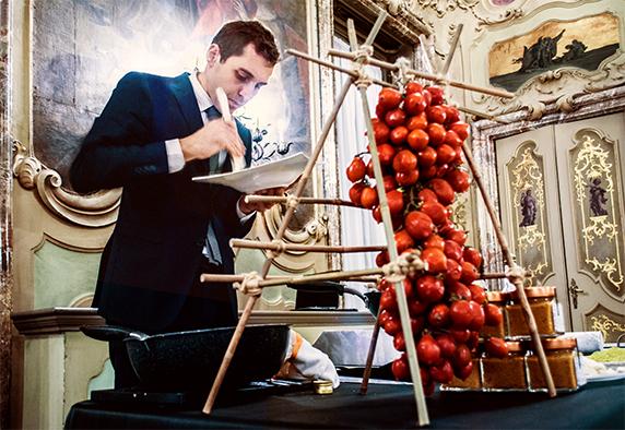 Massimo Temporiti max&kitchen catering milano presso socrea