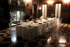 Cena di gala - Montblanc - Maxandkitchen catering Milano