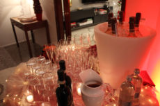 luxury event max&kitchen catering allestimento luminoso kartell