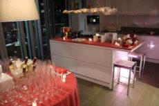 allestimento natalizio evento privato max&kitchen catering milano