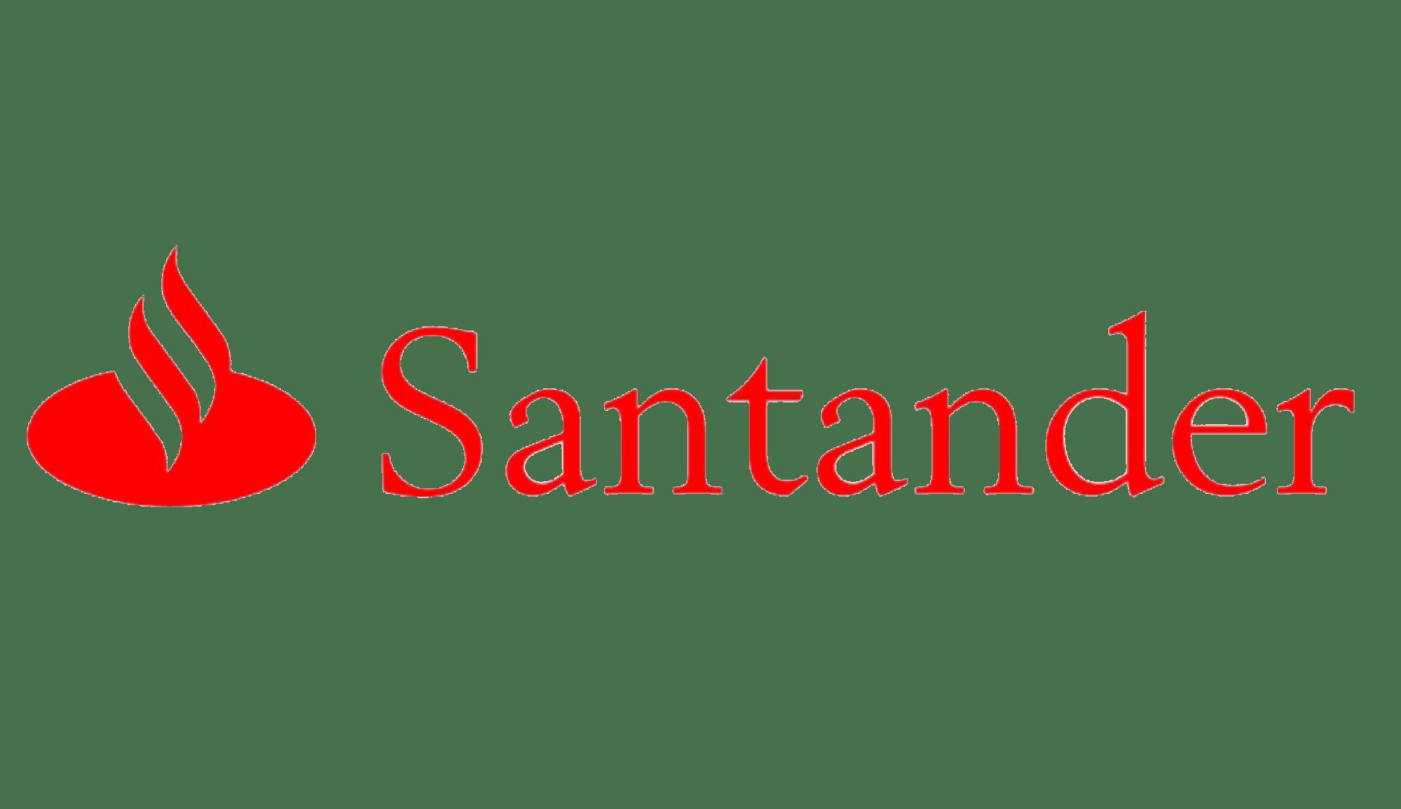 Logo Banco santander max&kitchen catering