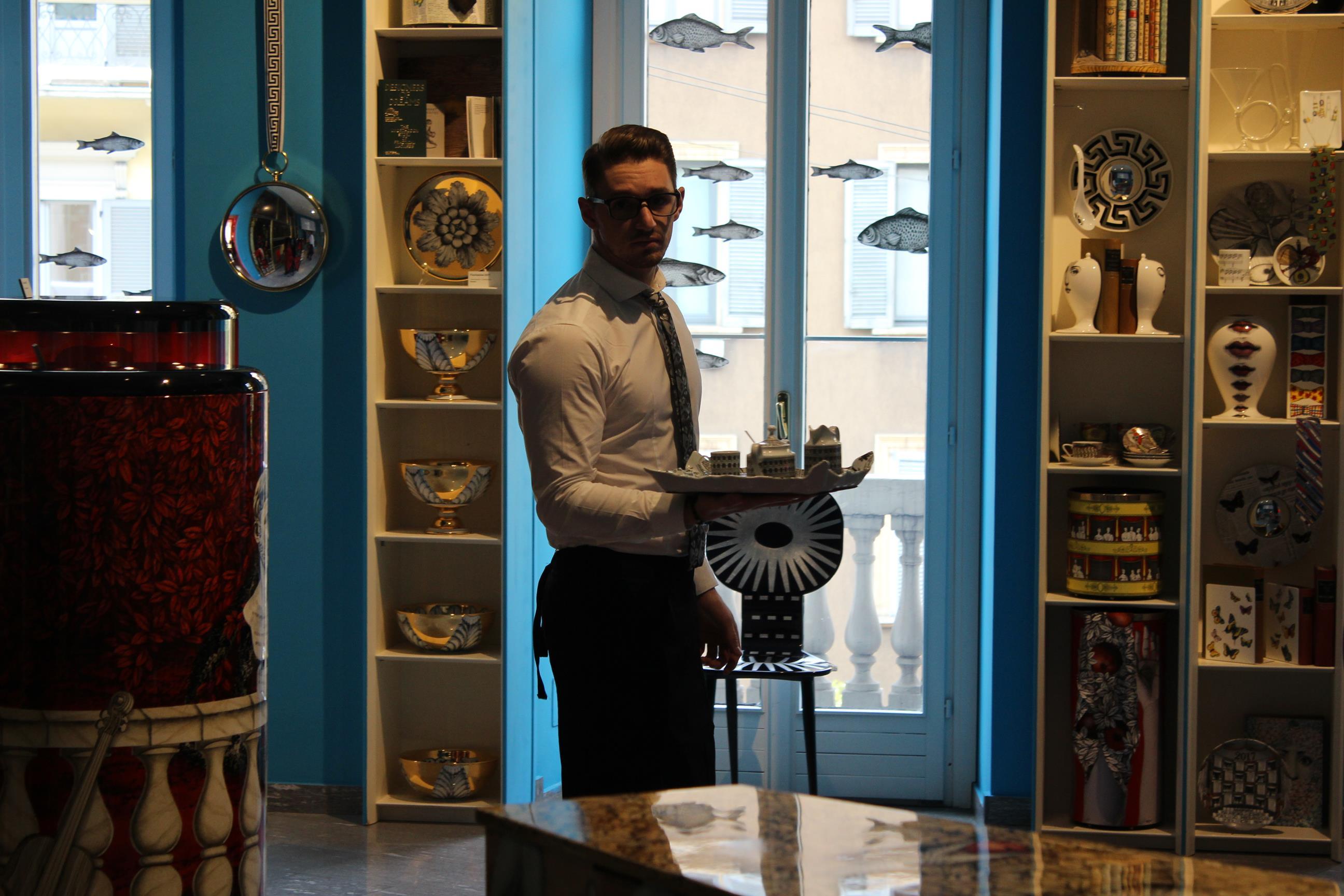 fornasetti italy milan shop