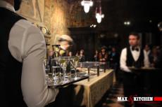 cena-di-gala-anni-30 mont blanc max&kitchen catering milano cena champagne