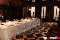 cena-di-gala-anni-30 mont blanc max&kitchen catering