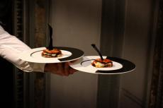 cena-di-gala-anni-30 mont blanc max&kitchen catering milano cena chef stellata