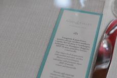 cena seduti wedding max&kitchen catering sottopiatto menu