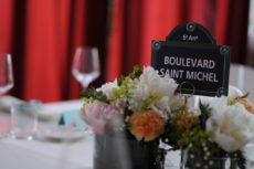 cena seduti wedding max&kitchen catering segna posto originale