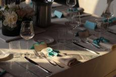 cena seduti wedding max&kitchen catering mise en place