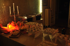 catering natale max&kitchen milano a lume di candela