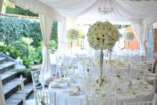 max&kitchen catering matrimonio wedding day, cerimonia sul lago allestimento