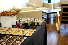 max&kitchen catering colazione di lavoro elegante