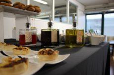 luxury light lunch elegante seezione ingredienti slow food