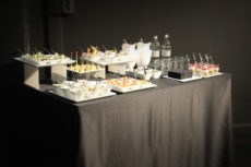 PR Laboratory max&kitchen catering milano press day buffet
