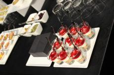 PR Laboratory max&kitchen catering milano press day buffet finger food