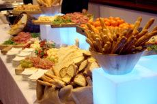 intel Max&kitchen allestimento cena di gala personalizzata