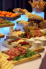 intel Max&kitchen allestimento cena di gala buffet