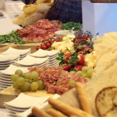 intel Max&kitchen allestimento buffet cena di gala