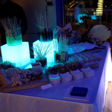 intel Max&kitchen allestimento buffet finger food