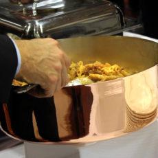 intel Max&kitchen Catering milano cena di gala buffet primi piatti massimo temporiti