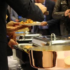 intel Max&kitchen Catering milano cena di gala buffet primi piatti