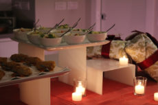 luxury event max&kitchen catering candele