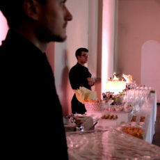 BATTESIMO SOFIA max&kitchen catering milano ambiente champagne