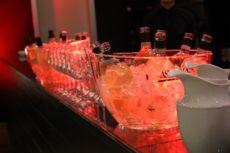 max&kitchen caffè biologico luce led allestimenti ghiaccio
