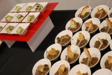 teatro elfo milano catering buffet light lunch zucchina arrotolata