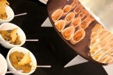 teatro elfo milano catering buffet light lunch caponata