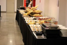 teatro elfo milano catering buffet light lunch