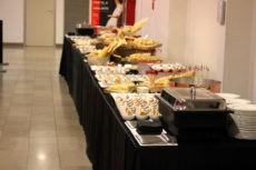 teatro elfo milano catering buffet light lunch