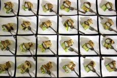 Fondazione Coloni - Max&Kitchen Catering GAM luxury event rotolino di zucchina