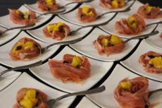 Fondazione Coloni - Max&Kitchen Catering GAM luxury event proscutto crudo di parma