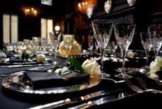 cena di gala catering milano