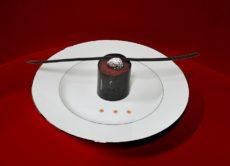 piatto in profilo platino toritino al cococlato