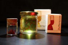 miele con pistilli di zafferano