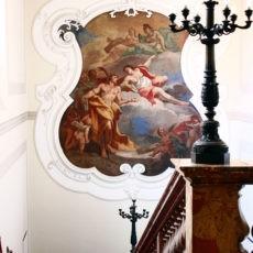 Palazzo Cusani scalinata principale