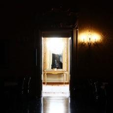 Palazzo Cusani corridoio principale