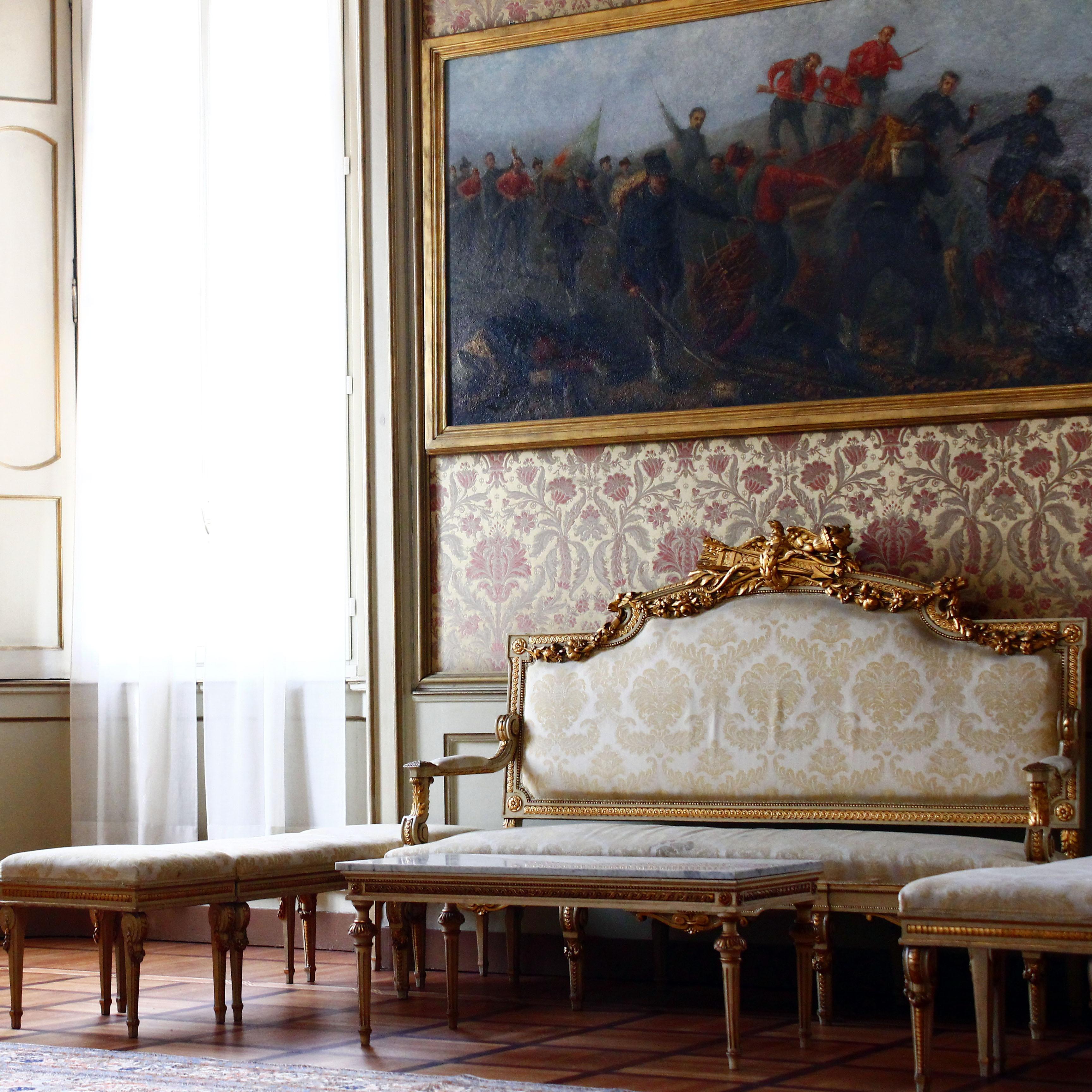 Palazzo Cusani saletta del 700