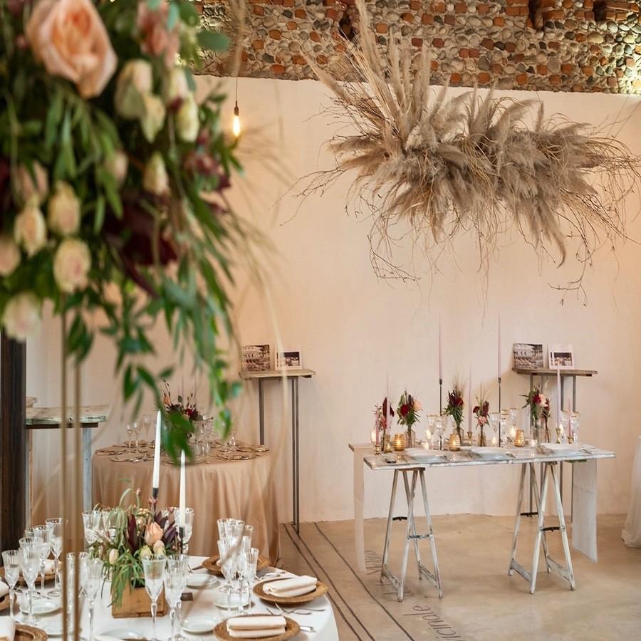 Mulino del Pericolo tavoli wedding
