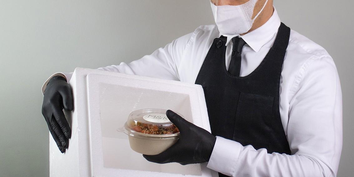 Servizio catering in sicurezza covid-19