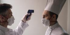 catering rilevamento temperature safety food service covid-19